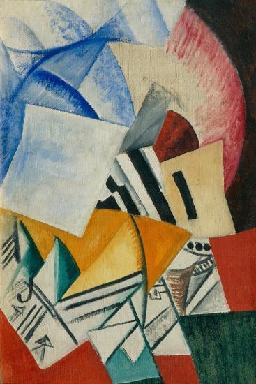 The Cupboard, 1918-Olga Vladimirovna Rozanova-Giclee Print