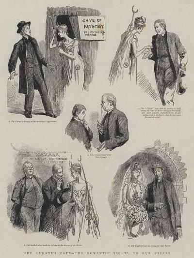 The Curate's Fate, the Romantic Sequel to Our Bazaar-Sydney Prior Hall-Giclee Print