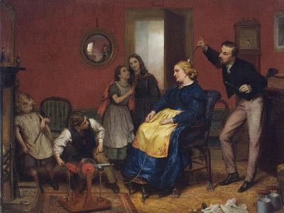 The Cure for a Headache-David Henry Friston-Giclee Print