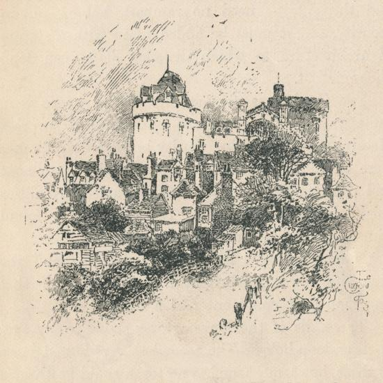 'The Curfew Tower', 1895-Unknown-Giclee Print