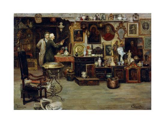 The Curiosity Shop, 19th Century-Eduardo Vianella-Giclee Print