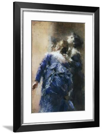The Curious Ladies-Tranquillo Cremona-Framed Giclee Print