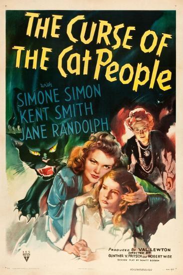 The Curse of the Cat People, Simone Simon, Ann Carter, Julia Dean, 1944--Art Print