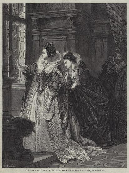 The Curt Reply-George Frederick Folingsby-Giclee Print