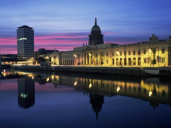 The Custom House, Dublin, Co. Dublin, Eire (Republic of Ireland)-Roy Rainford-Photographic Print