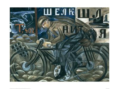The Cyclist-Natalie Gontcharova-Art Print
