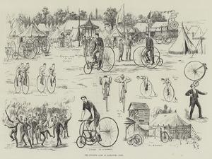 The Cyclists' Camp at Alexandra Park