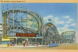 The Cyclone, Coney Island, C.1946