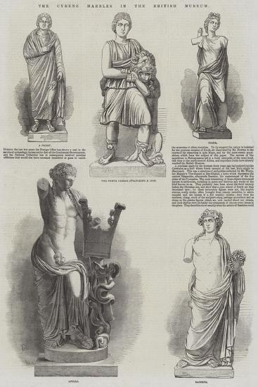 The Cyrene Marbles in the British Museum--Giclee Print