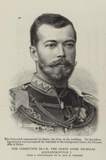 The Czarevitch, Hir the Grand Duke Nicholas Alexandrovitch--Giclee Print