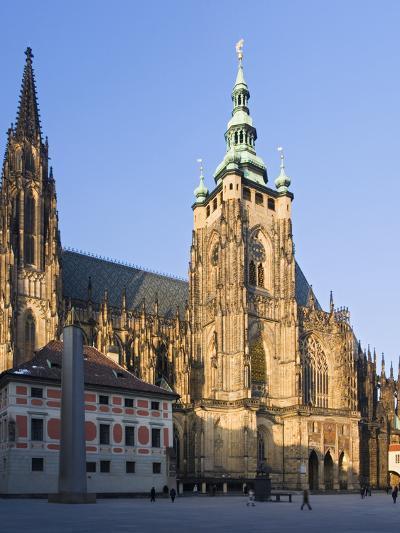 The Czech Republic, Prague, St. Vitus Cathedral, Outside-Facade-Rainer Mirau-Photographic Print