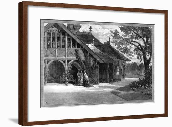 The Dairy, Sandringham, Norfolk, 1887--Framed Giclee Print