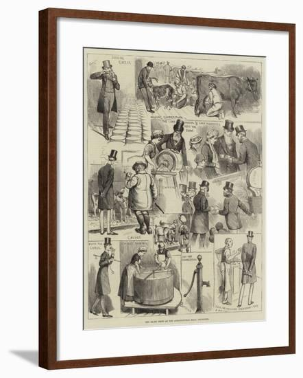 The Dairy Show at the Agricultural Hall, Islington-Alfred Courbould-Framed Giclee Print