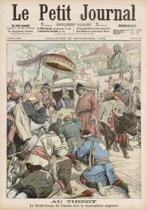 The Dalai Lama Flees British Occupation in Tibet