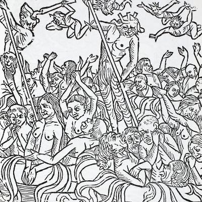 The Damned in Hell--Giclee Print