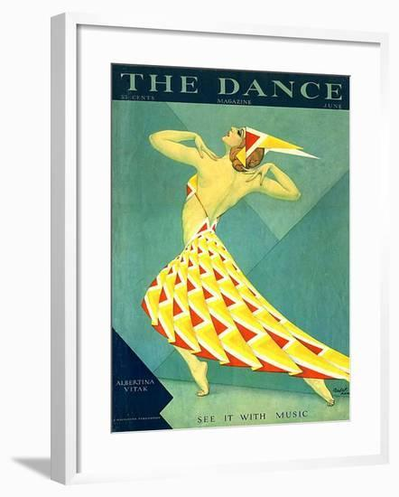 The Dance, Albertina Vitak, 1929, USA--Framed Giclee Print