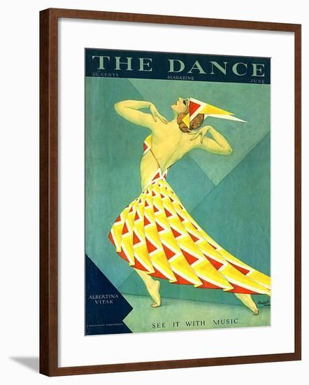 The Dance, Albertina Vitak, 1929, USA--Framed Giclee Print