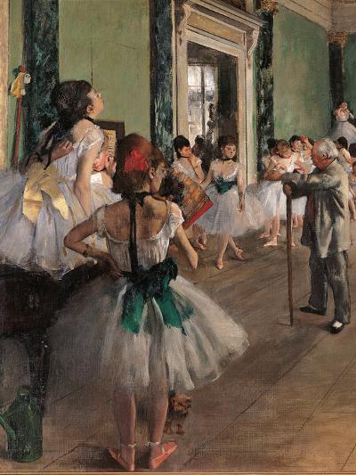 The Dance Class-Edgar Degas-Giclee Print