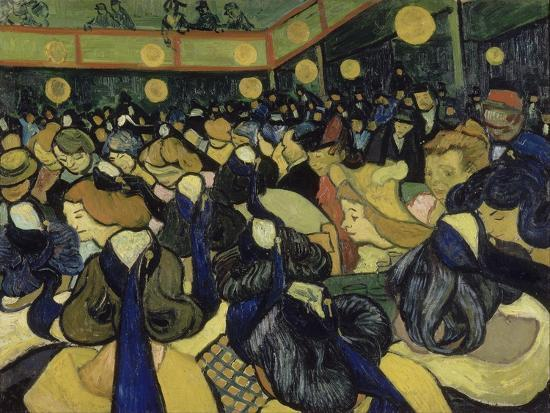 The Dance Hall in Arles, 1888-Vincent van Gogh-Giclee Print