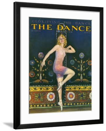 The Dance Magazine, Ballet Magazine, USA, 1930--Framed Giclee Print