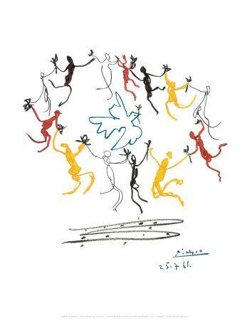 The Dance Of Youth Art Print By Pablo Picasso