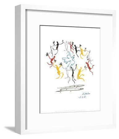 The Dance of Youth-Pablo Picasso-Framed Art Print