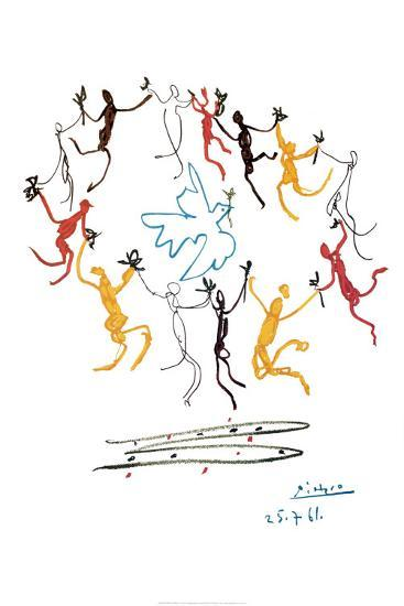 The Dance Of Youth-Pablo Picasso-Poster