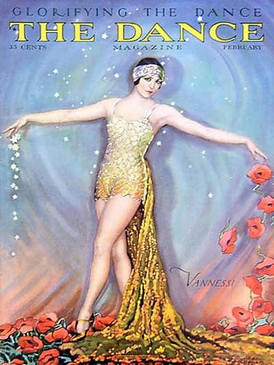 The Dance, Vannessi, 1928, USA--Giclee Print