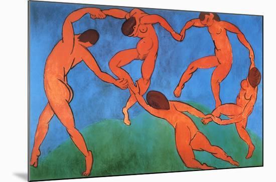 The Dance-Henri Matisse-Mounted Art Print