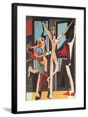 The Dance-Pablo Picasso-Framed Art Print