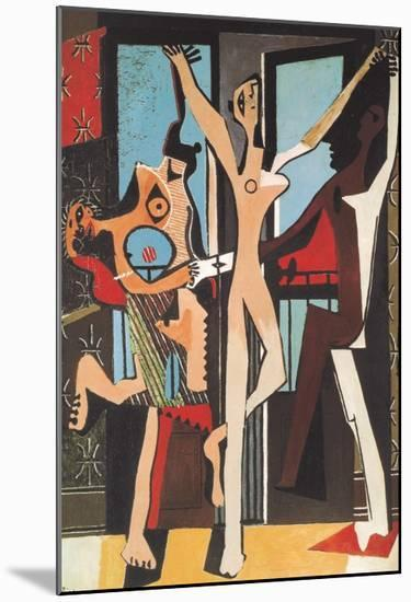The Dance-Pablo Picasso-Mounted Art Print