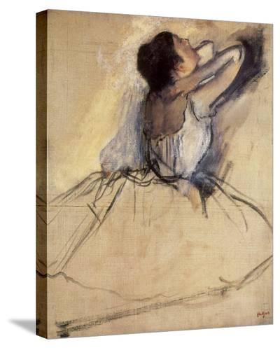 The Dancer, 1874-Edgar Degas-Stretched Canvas Print
