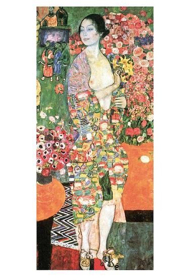 The Dancer, c.1918-Gustav Klimt-Art Print