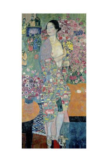 The Dancer, Ca 1916-1918-Gustav Klimt-Giclee Print