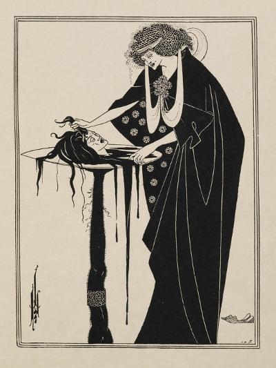"The Dancer's Reward. From Salome.""""--Giclee Print"