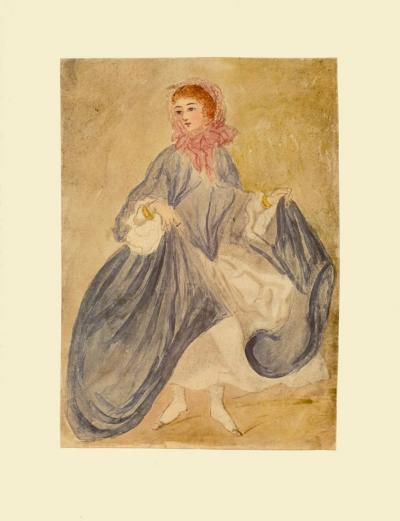 The Dancer-Constantin Guys-Collectable Print