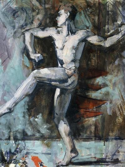 The Dancer-Francis Campbell Boileau Cadell-Giclee Print