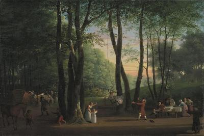 The Dancing Glade at Sorgenfri, North of Copenhagen, 1800-Jens Juel-Giclee Print