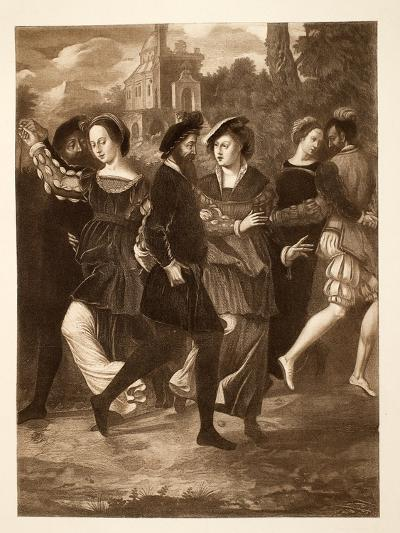The Dancing Picture, C.1532, Pub. 1902--Giclee Print