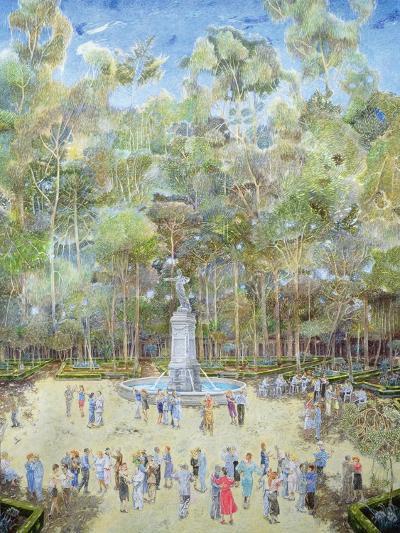 The-Dansant, Tea Evening, La Ciudadela, 2003-James Reeve-Giclee Print