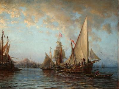 The Dardanelles, 1873-Alexei Petrovich Bogolyubov-Giclee Print