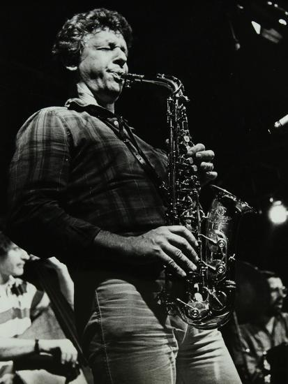 The Daryl Runswick Quartet in Concert at the Stables, Wavendon, Buckinghamshire, 1981-Denis Williams-Photographic Print