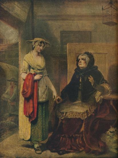 The Daughter's Departure, 18th century, (1921)-Unknown-Giclee Print