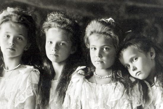 The Daughters of Tzar Nicholas II--Photographic Print