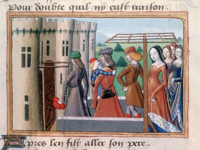 The Dauphin Returns to Paris, June 1418--Giclee Print