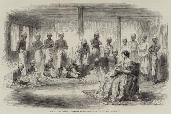The David Sassoon Industrial and Reformatory Institution at Bombay--Giclee Print