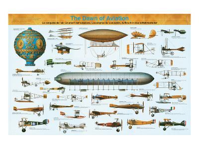 The Dawn of Aviation--Art Print