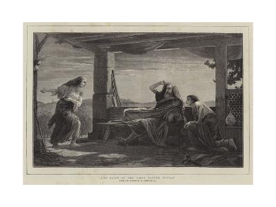 The Dawn of the First Easter Sunday-Edward A. Armitage-Giclee Print
