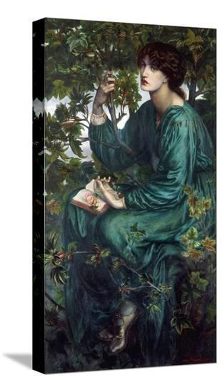 The Day Dream, 1880-Dante Gabriel Rossetti-Stretched Canvas Print
