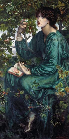 The Day Dream, 1880-Dante Gabriel Rossetti-Giclee Print